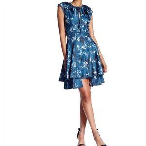 Henrietta Fit-&-Flare Floral Dress